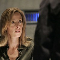 Audrey Raines is interrogated in 24 Season 5 Episode 15