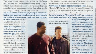 Dennis Haysbert in TV Guide Magazine March 2006