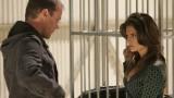 Jack Bauer questions Collette Stenger in 24 Season 5 Episode 14
