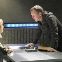 Jack Bauer interrogates Audrey Raines in 24 Season 5 Episode 15