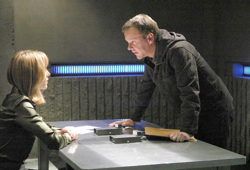 Jack Bauer interrogates Audrey Raines
