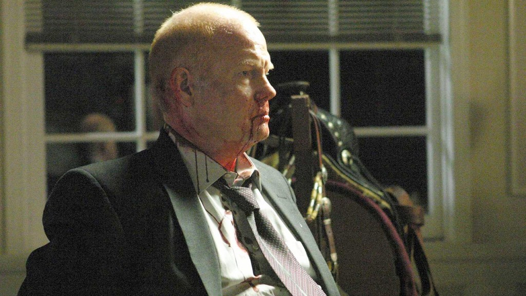 Aaron Pierce (Glenn Morshower) withstands torture in 24 Season 5 Episode 22