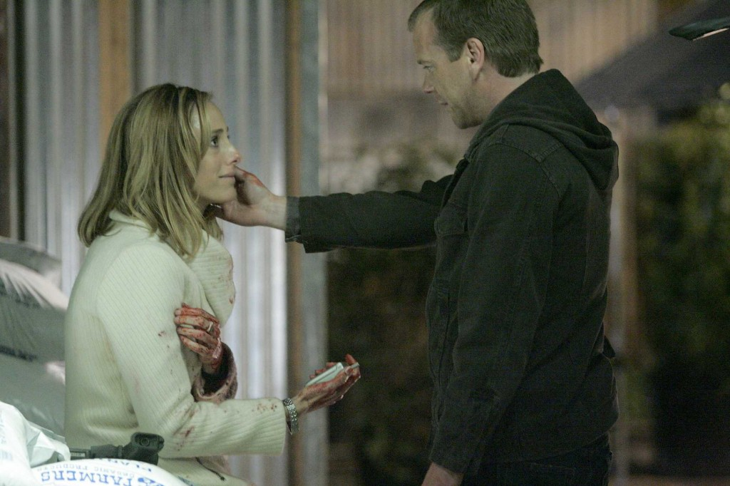 Jack Bauer assures Audrey in 24 Season 5 Episode 19