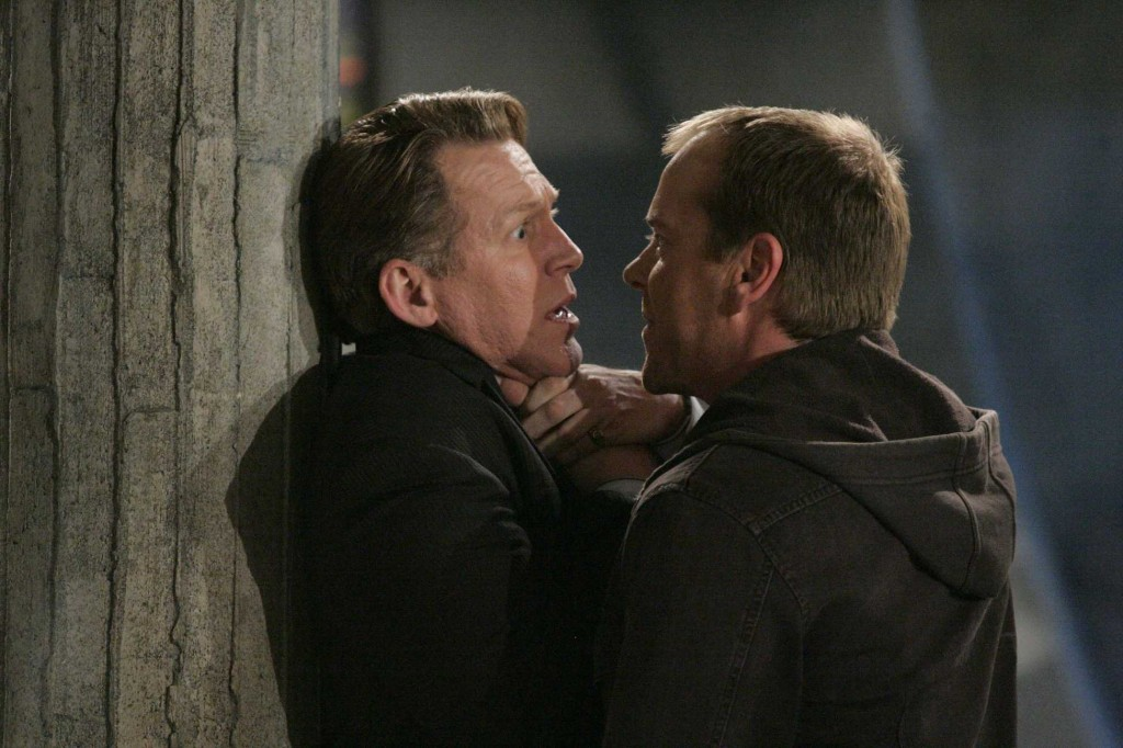 Jack Bauer learns Miles Papazian tampered with evidence in 24 Season 5 Episode 19
