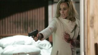 Audrey Raines with gun 24 Season 5