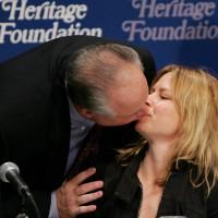 Rush Limbaugh Mary Lynn Rajskub kiss
