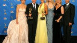 Cast of 24 Backstage After Winning Outstanding Drama Series at 2006 Emmy Awards