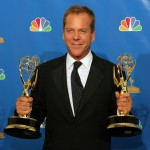 Kiefer Sutherland winner of two Emmy awards