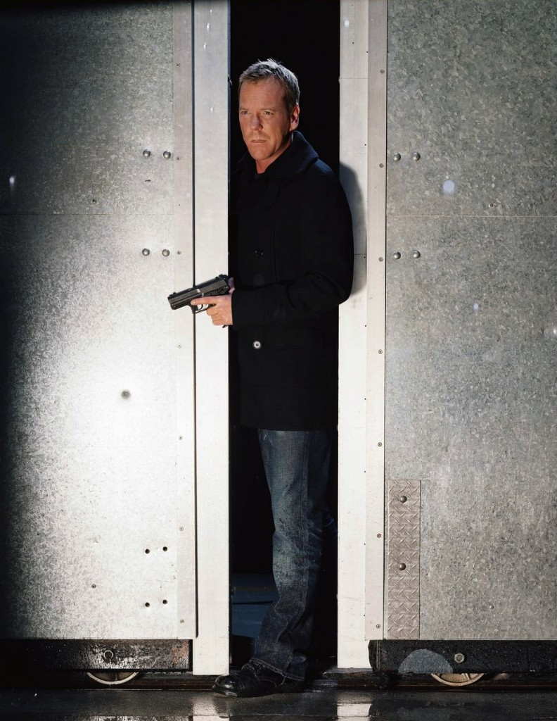 Kiefer Sutherland as Jack Bauer 24 Season 6 Cast Promotional Photo