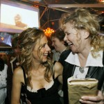 Kim Raver and Jean Smart at 24 Season 5 DVD Launch Party