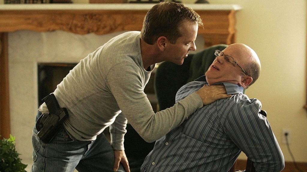 Jack Bauer interrogates his brother Graem in 24 Season 6 Episode 6