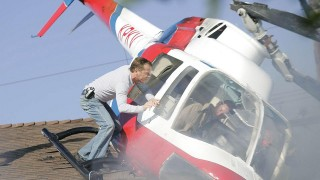 Jack Bauer rescues a pilot from a plane crash in 24 Season 6 Episode 5
