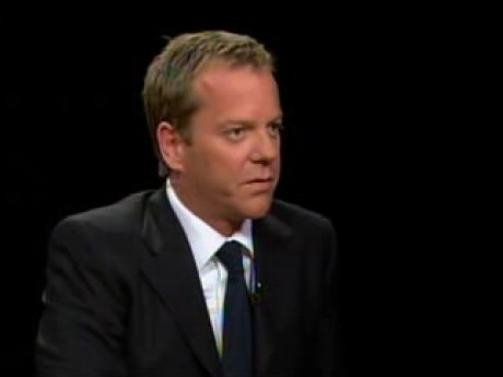 Kiefer Sutherland on Charlie Rose 2007