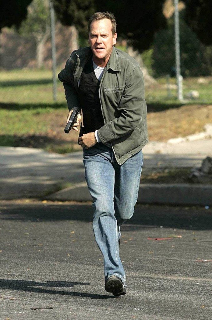 Jack Bauer Running - 24 Season 6