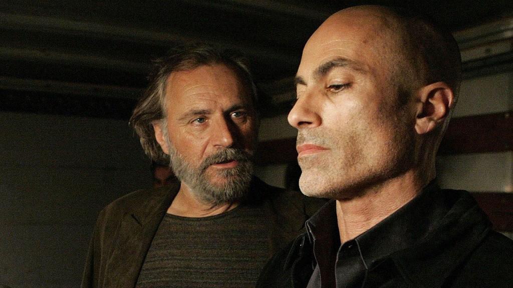 Dmitri Gredenko and Abu Fayed argue in 24 Season 6 Episode 15