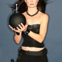 Mary Lynn Rajskub Geek Monthly Bomb Shorts