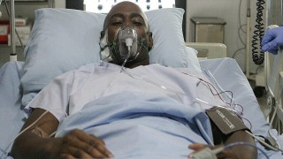 President Wayne Palmer is hospitalized after a failed assassination attempt in 24 Season 6 Episode 14