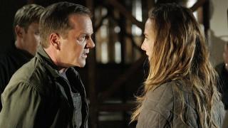 Jack Bauer talks to Audrey Raines in 24 Season 6 Episode 19
