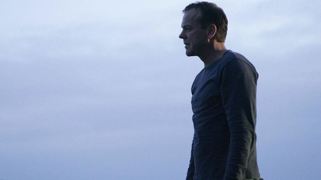 Jack Bauer in the final scene of the 24 Season 6 finale