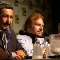 Jon Cassar and David Fury at Comic-Con 2007 Day 2