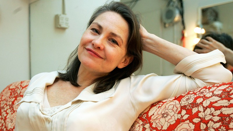 Cherry Jones at the Booth Theatre in New York, 2006