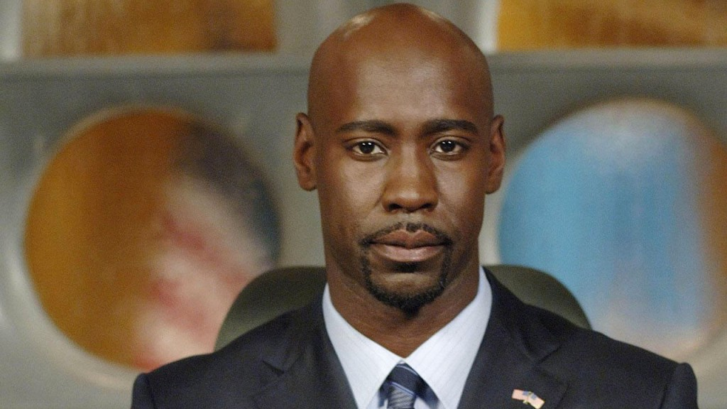 D.B. Woodside as President Wayne Palmer in 24 Season 6 Episode 6