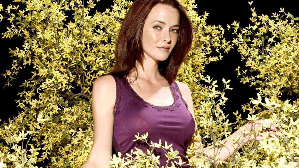 Annie Wersching in a FOX photo shoot