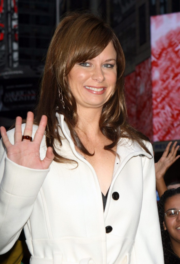 Mary Lynn Rajskub at 24 Season 7 Trailer Premiere in Times Square
