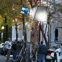 24 Season 7 being filmed in Georgetown, Washington, D.C.
