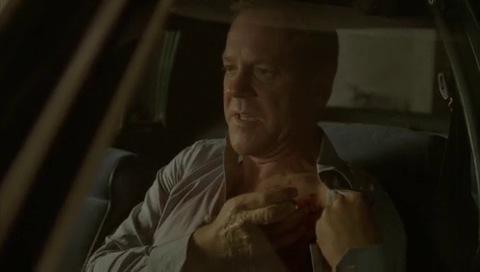24 Season 6 Deleted Scene Jack Cauterizes Wound