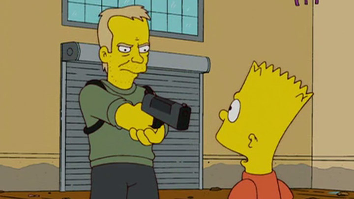 Jack Bauer in 24 Minutes The Simpsons episode