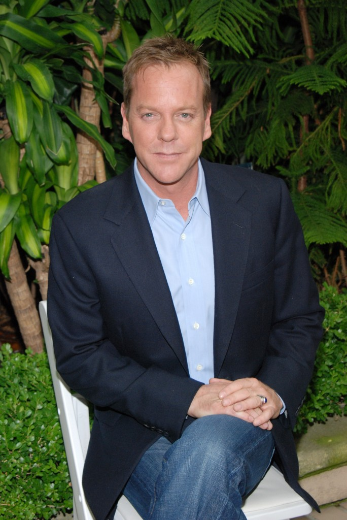 """24: Redemption"" Press Conference with Kiefer Sutherland"