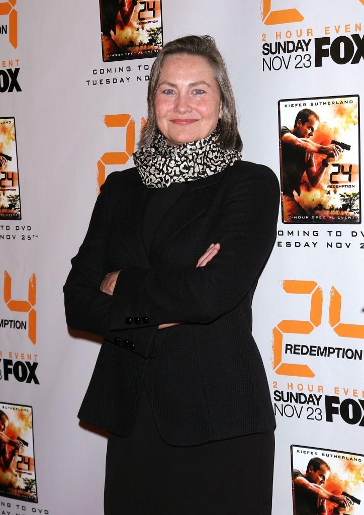 Cherry Jones at 24 Redemption Premiere in NYC