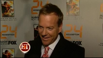 Entertainment Tonight 24 Redemption red carpet interviews