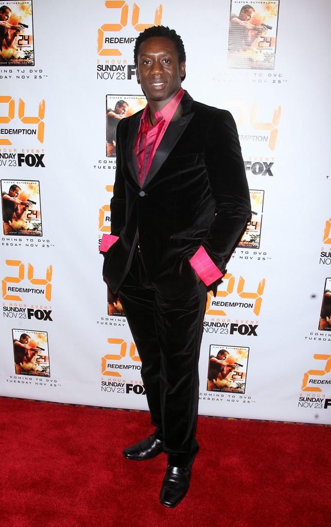 Hakim Kae-Kazim at 24 Redemption Premiere in NYC