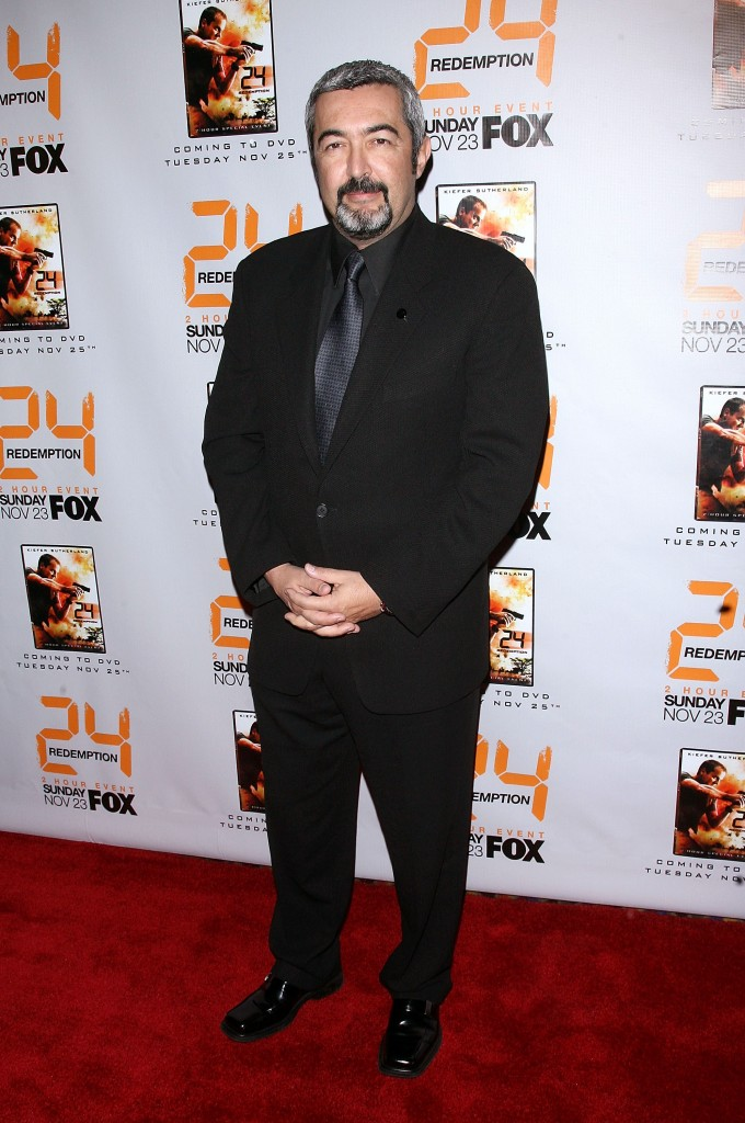 Jon Cassar at 24 Redemption Premiere in NYC