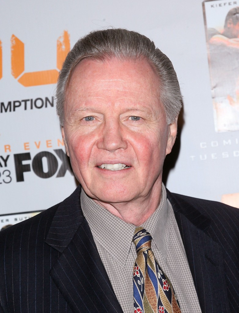 Jon Voight at 24 Redemption Premiere in NYC