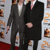 Kiefer Sutherland and Robert Carlyle at 24 Redemption Premiere in NYC