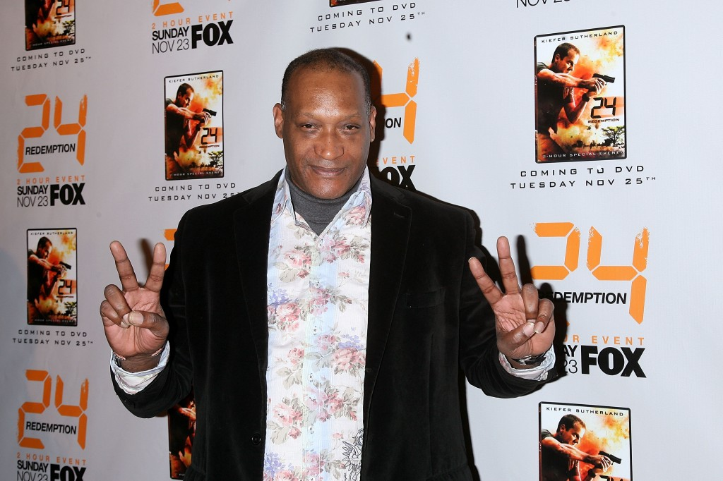 Tony Todd at 24 Redemption Premiere in NYC