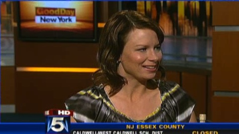 Mary Lynn Rajskub on Good Day NY January 2009