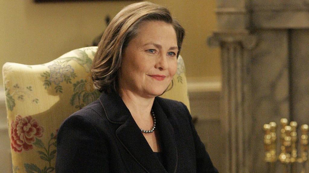 Cherry Jones as President Allison Taylor in 24 Season 7