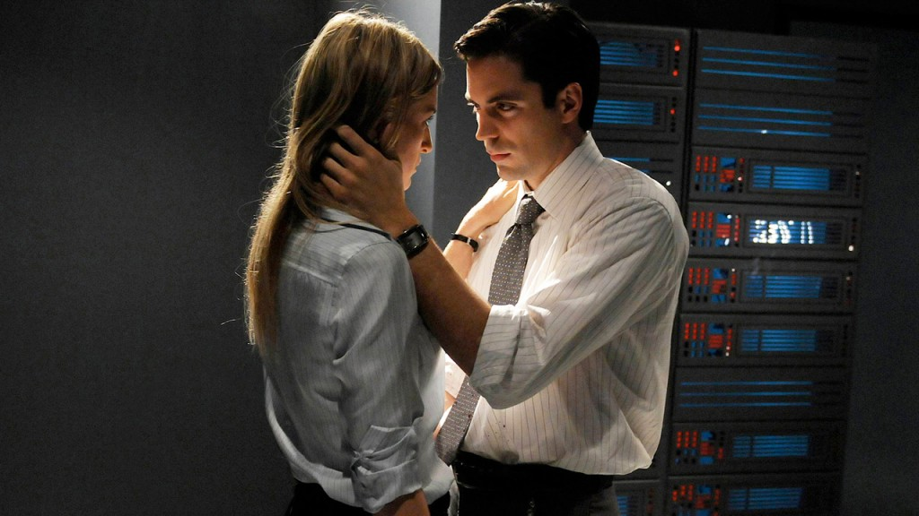 "Rhys Coiro (""Sean Hillinger"") and Ever Carradine (""Erika"") in 24 Season 7 Episode 10"