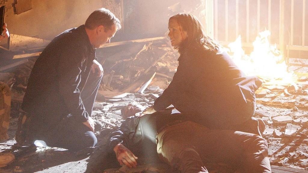 Jack Bauer and Renee Walker in 24 Season 7 Episode 19