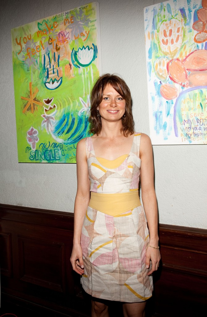 Sonce Leroux Gallery Presents Mary Lynn Rajskub's Art Opening