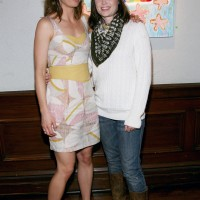 Sonce Leroux Gallery Presents Mary Lynn Rajskub's Art Opening
