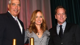 Gary Newman, Dana Walden, and Kiefer Sutherland