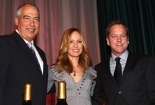 Gary Newman, Dana Walden, and Kiefer Sutherland