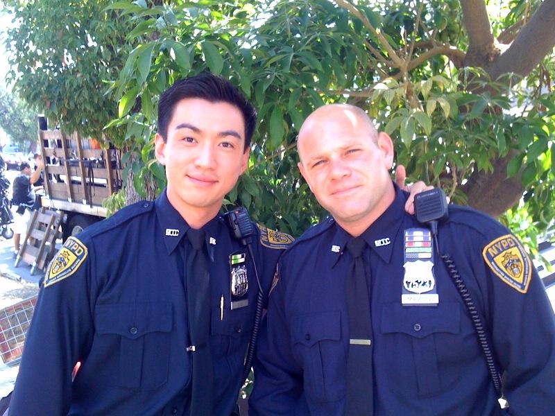 Johnny Wu and Domenick Lombardozzi