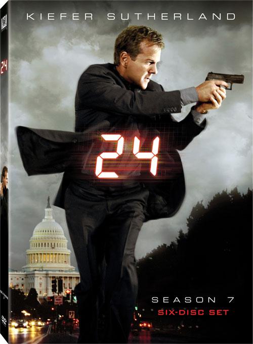 24 Season 7 DVD cover