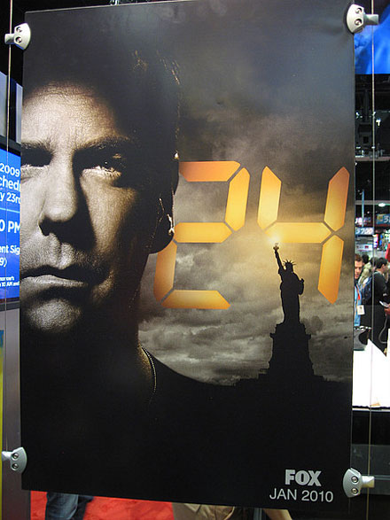 24 Season 8 Comic-Con poster: Jack Bauer and Statue of Liberty
